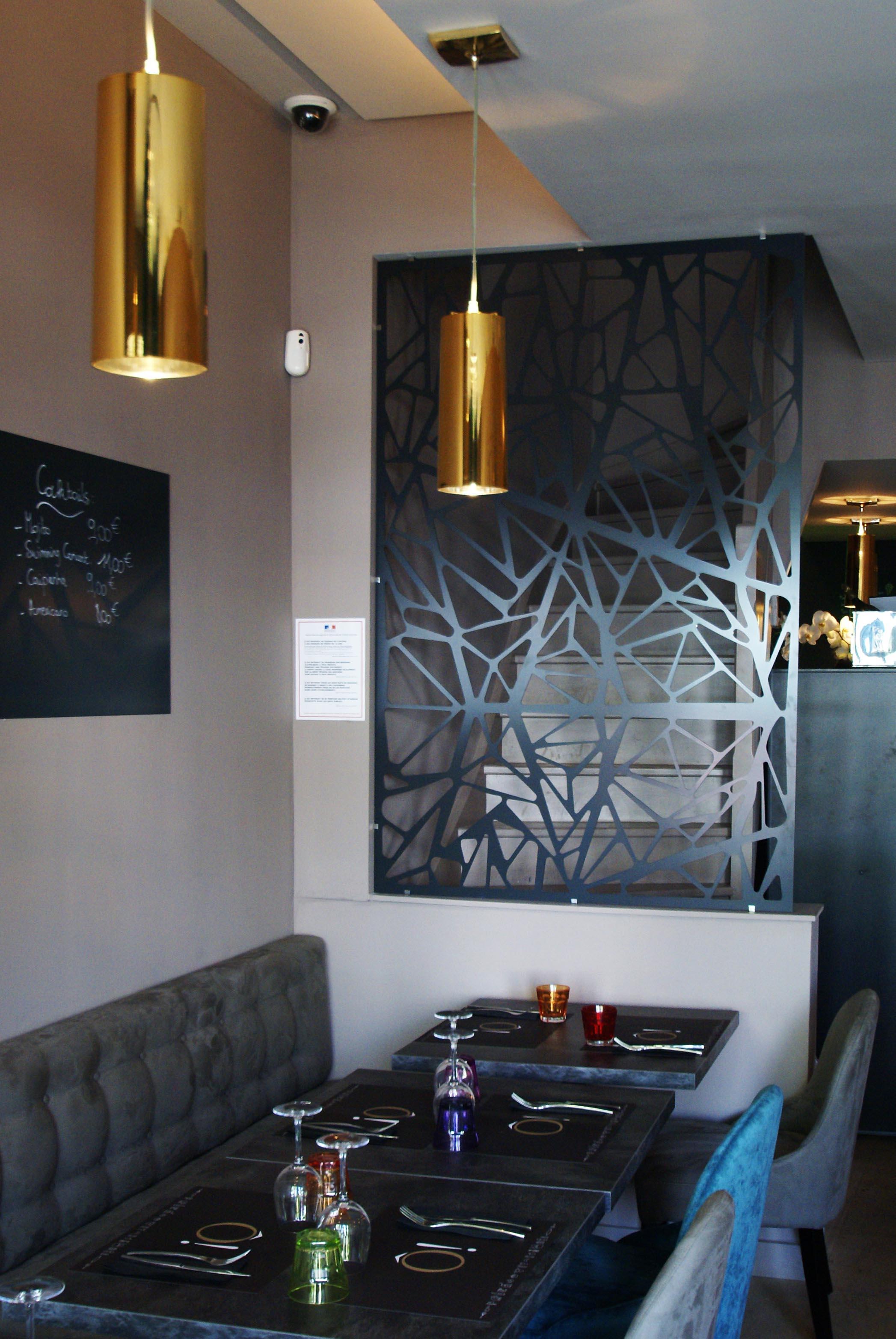 O Concert Lille aménagement intérieur haut de gamme d'un restaurant | dc architecture